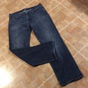 7 for all mankind Austyn straight leg jeans 33/30